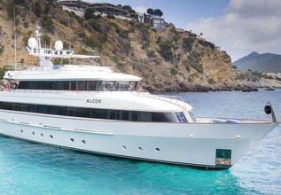 Alcor Charter Yacht at Palma Superyacht Show 2014