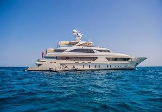 Scorpion Charter Yacht at Monaco Yacht Show 2015