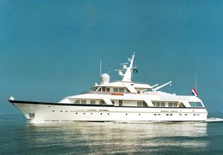 Synthesis 66 Charter Yacht at Fort Lauderdale Boat Show 2015