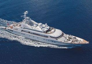 Grand Ocean Charter Yacht at Monaco Grand Prix Yacht Charter