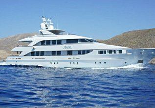 Happy T Charter Yacht at Monaco Yacht Show 2015