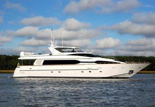 Queen Nilsa Doraliz Charter Yacht at Palm Beach Boat Show 2014