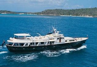 Santa Maria Charter Yacht at MIPIM 2014