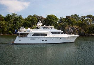Fully Occupied Charter Yacht at Fort Lauderdale Boat Show 2015