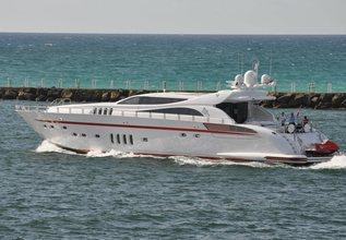 Asaska Charter Yacht at Fort Lauderdale Boat Show 2019 (FLIBS)