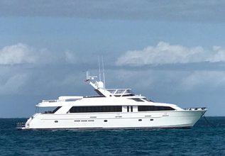 Taima Charter Yacht at Miami Yacht Show 2020