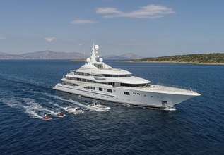 Valerie Charter Yacht at The Superyacht Show 2019