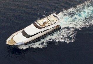 ZOI Charter Yacht at Mediterranean Yacht Show 2016