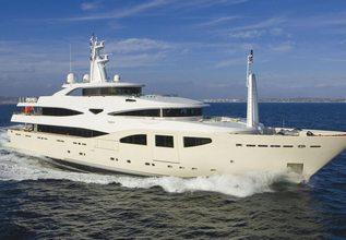 Maraya Charter Yacht at MIPIM 2014