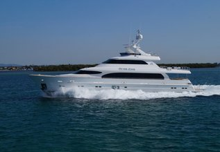 In the Zone Charter Yacht at Fort Lauderdale International Boat Show (FLIBS) 2021