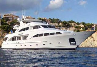 Paradigm Charter Yacht at Palm Beach Boat Show 2014