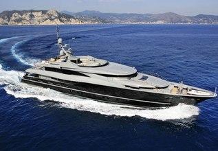 Nonni II Charter Yacht at Monaco Grand Prix 2014