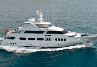 Never Enough Charter Yacht at Fort Lauderdale International Boat Show (FLIBS) 2021