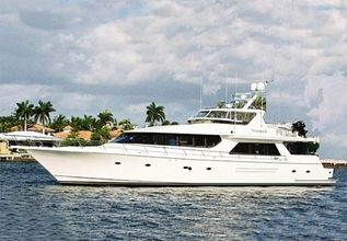 Lady Frances Charter Yacht at Fort Lauderdale Boat Show 2015