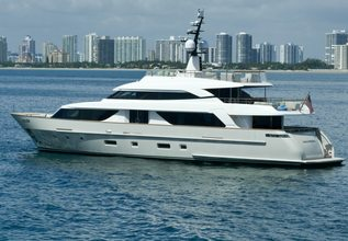 Belle Charter Yacht at Fort Lauderdale Boat Show 2019 (FLIBS)