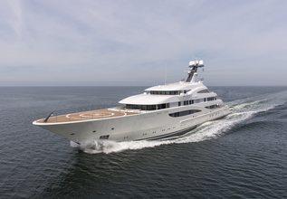 Amatasia Charter Yacht at Monaco Yacht Show 2017