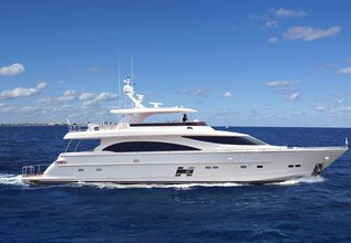Horizon E88 Charter Yacht at Fort Lauderdale Boat Show 2015