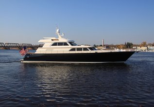 Liberty Charter Yacht at Palm Beach Boat Show 2014