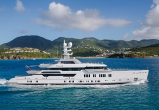 Elysian Charter Yacht at Monaco Yacht Show 2015