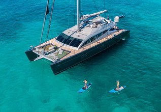 Cartouche Charter Yacht at Fort Lauderdale Boat Show 2015