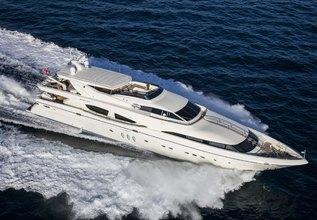 RINI Charter Yacht at Mediterranean Yacht Show 2019