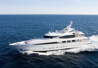 La Tania Charter Yacht at Monaco Grand Prix 2014