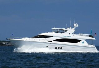 Lexus Lady Charter Yacht at Miami Yacht Show 2020