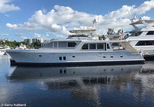 Let It Bee Charter Yacht at Fort Lauderdale Boat Show 2017