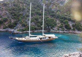 Kaya Guneri IV Charter Yacht at TYBA Yacht Charter Show 2018