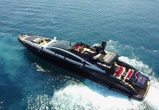 Black Legend Charter Yacht at Monaco Yacht Show 2017