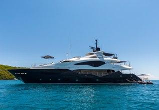 Aroha Charter Yacht at Miami Yacht Show 2020