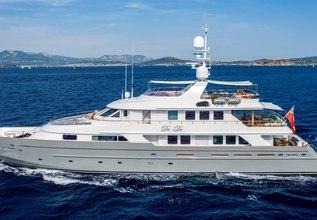 De De Charter Yacht at Monaco Grand Prix 2014
