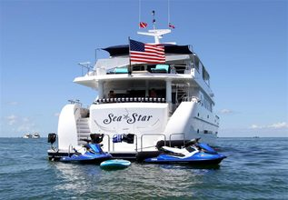Sea Star Charter Yacht at Fort Lauderdale Boat Show 2017