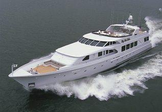 La Sirena Charter Yacht at Palm Beach Boat Show 2014
