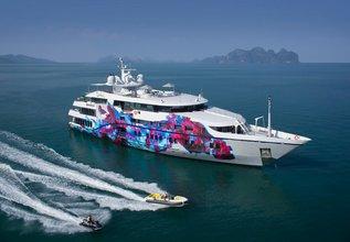 Saluzi Charter Yacht at Abu Dhabi Grand Prix 2017