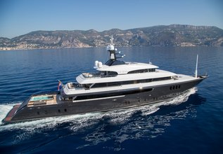 Icon Charter Yacht at Antigua Charter Yacht Show 2014