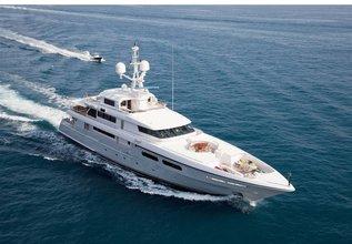 Elena V Charter Yacht at Monaco Yacht Show 2013