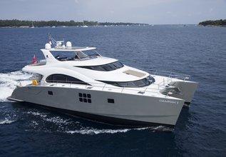 Damrak II Charter Yacht at Antigua Charter Show 2015