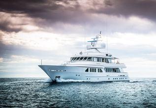 Lady Charlotte Charter Yacht at Monaco Yacht Show 2018