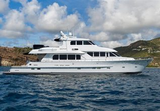 Going Coastal Charter Yacht at Palm Beach Boat Show 2019