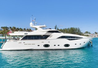 Amore Mio Charter Yacht at Miami Yacht Show 2020
