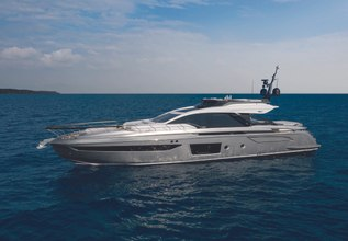Azimut Grande S8/ 01 Charter Yacht at Miami Yacht Show 2020