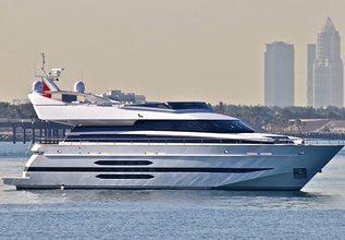 Nasima Charter Yacht at Dubai Boat Show 2014