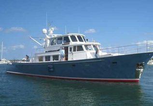 Makai Charter Yacht at Palm Beach Boat Show 2014