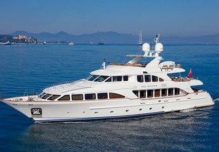 Bunty Charter Yacht at Monaco Grand Prix 2014