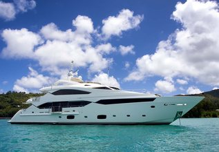 Lusia M Charter Yacht at MYBA Charter Show 2015
