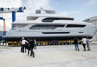 Hyperion Charter Yacht at Fort Lauderdale International Boat Show (FLIBS) 2021