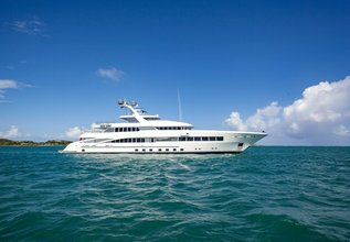 Rock.It Charter Yacht at Fort Lauderdale Boat Show 2015