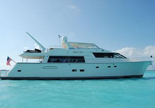 Tau Charter Yacht at Palm Beach Boat Show 2014