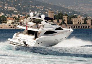 Donizetti Charter Yacht at Mediterranean Yacht Show 2014